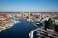 Visit Baltimore - Inner Harbor Aerial shot