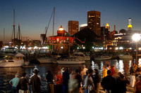 Visit Baltimore - Inner Harbor at night
